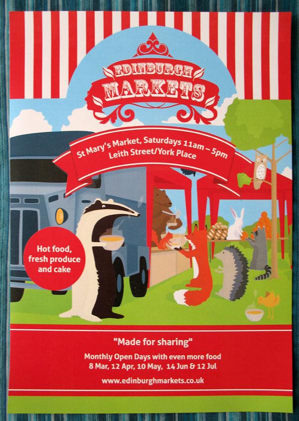 jfml-edinburghmarkets-leaflet-poster